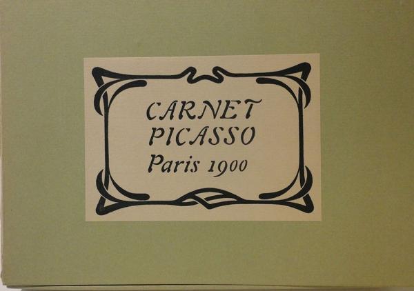 Carnet Picasso. Paris 1900