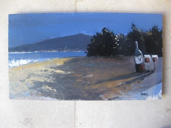 Galena a la platja