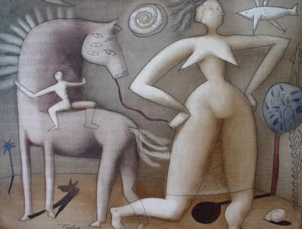 Mujer vanidosa