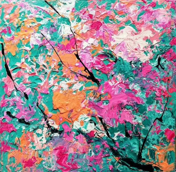 Tapis de fleurs I