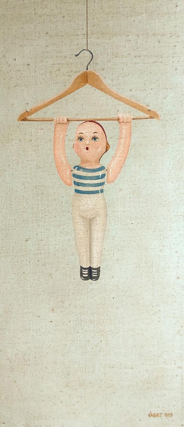 La gimnasta