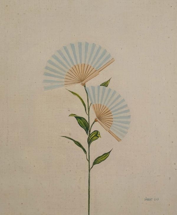 Flor de ventall blanc