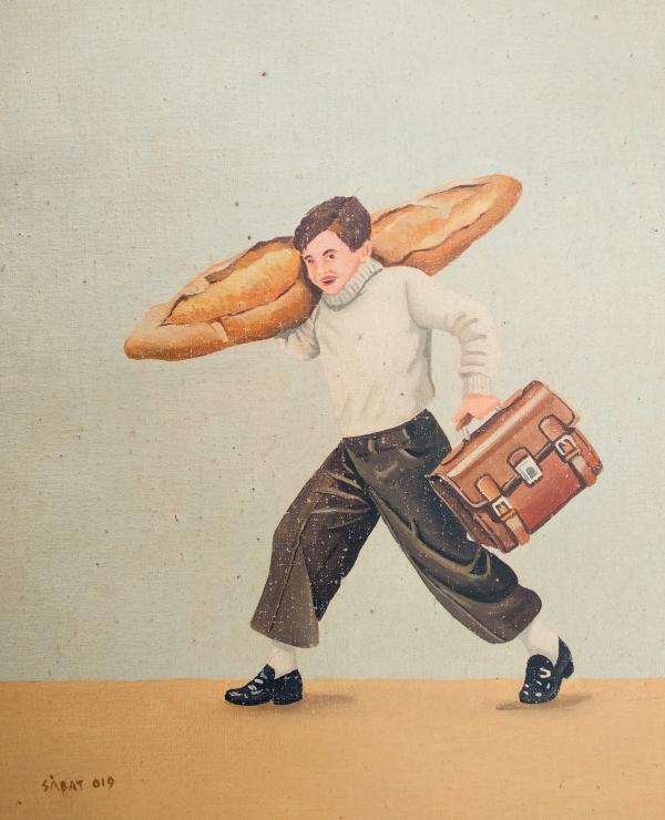Portar el pa a casa