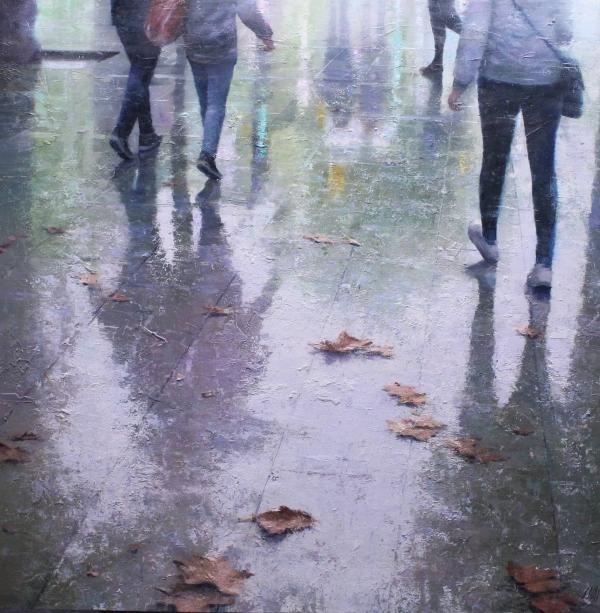 Between rain and leaves