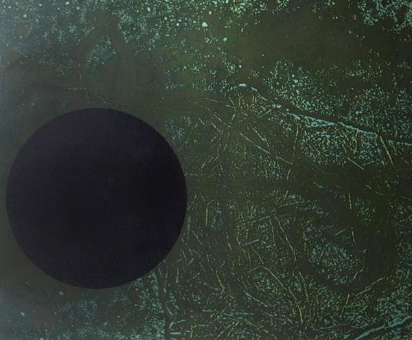 Disc negre damunt verd, 1966