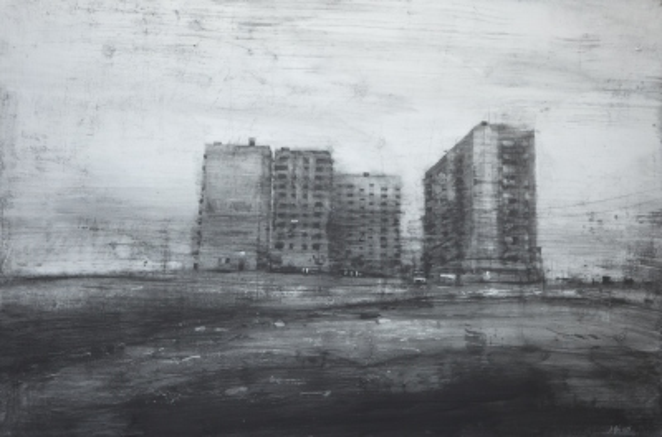 Barrio abandonado en Rusia