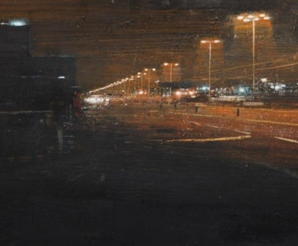 Avenida de noche