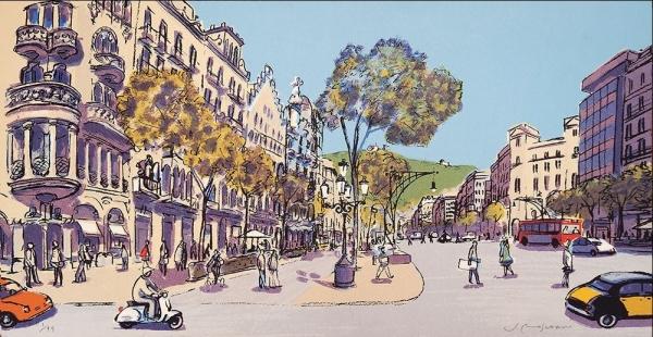 Primavera al Passeig de Gràcia