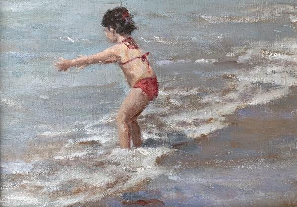 De peus a l'aigua