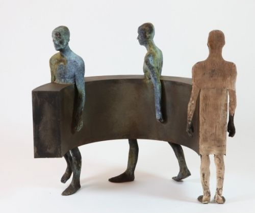 Jesús CURIÁ. Escultures