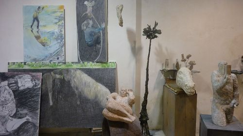 Jaime DE CÓRDOBA i Tina RUSIÑOL.CONVERSES D'ART