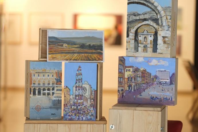 Presentación de la colección Arte, vino y territorio en el Castell del Cambrer de Reus