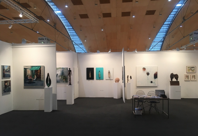 Anquins gallery at  ARTKARLSRUHE 2019