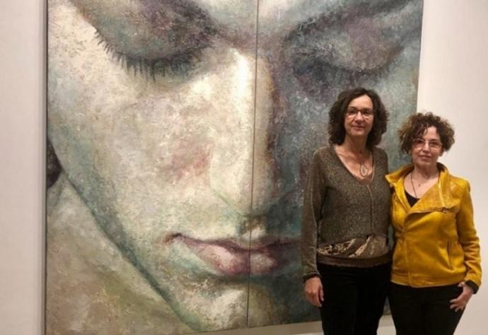 Inaugurada la exposición de Montse Valdés