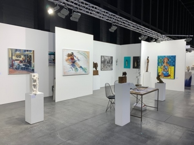 Anquins Gallery has participated at the  ARTBODENSEE Fair in Austria
