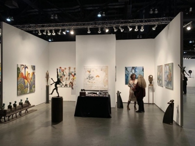 Anquins gallery takes part in LA ART SHOW in Los Angeles