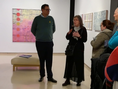 Opening of the exhibition by Coia Ibàñez Ferrater and temporary closing.