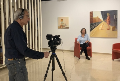 Anquins gallery director interviewed by BCNart